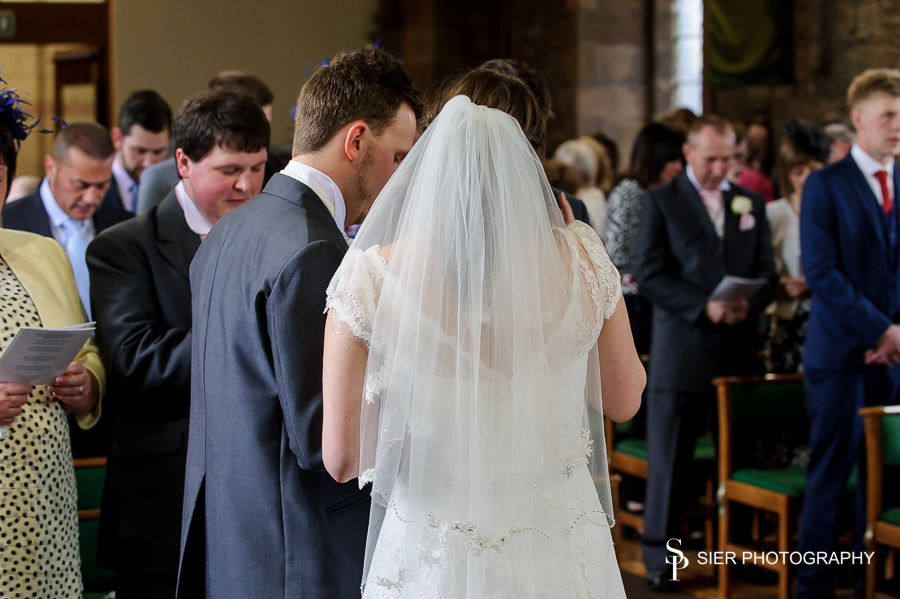 The Wedding of Amy and Chris at Christchurch Hackenthorpe followed by a reception at the Rutland Hotel Sheffield
