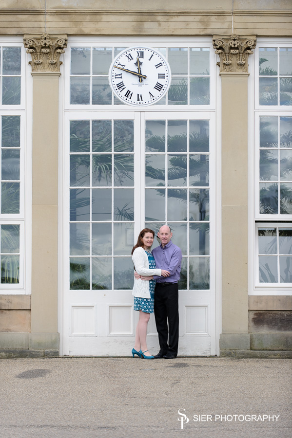 Engagement photography in the Botanical Gardens Sheffield