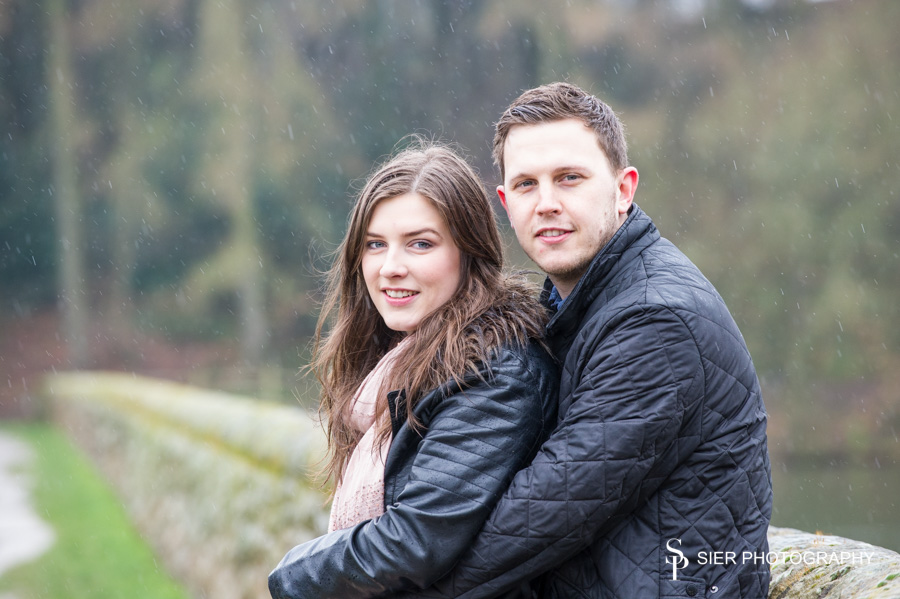 Engagement photography at Linacre Reservoirs near Chesterfield