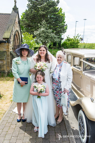 The Wedding of Lois and Chris at Christchurch Hackenthorpe followed by a Wedding Reception at Ringwood Hall Hotel