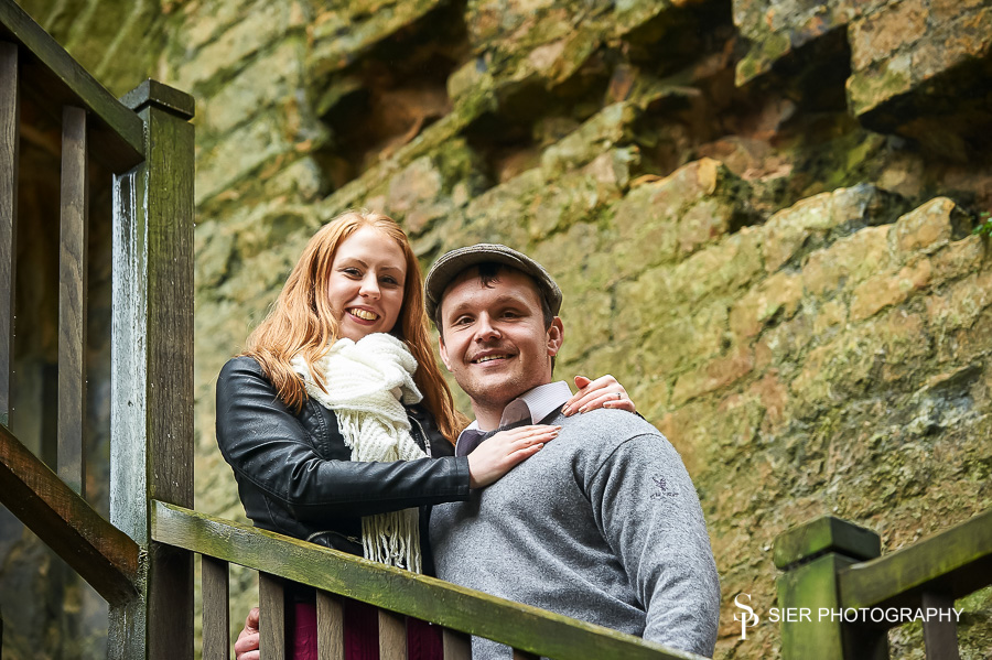 Engagement Photography at Bolsover Castle Derbyshire