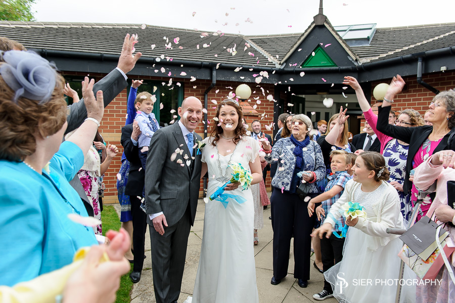 The Wedding of Anne-Marie and Andy at St Vincents Sheffield