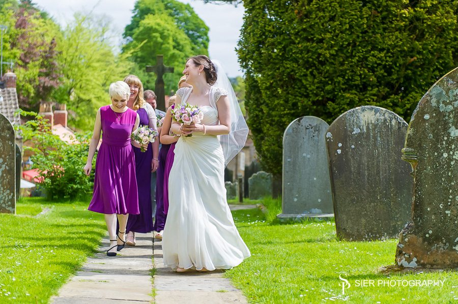 The Wedding of Kate and Matt in the village of Lastingham, North Yorkshire followed by a Wedding Reception at the Forest and Vale Hotel in Pickering