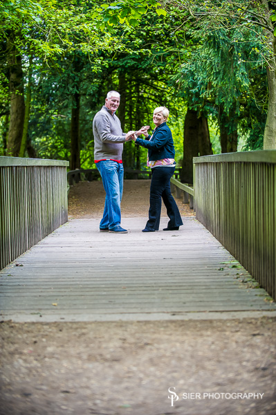 Engagement Photography at Rufford Park