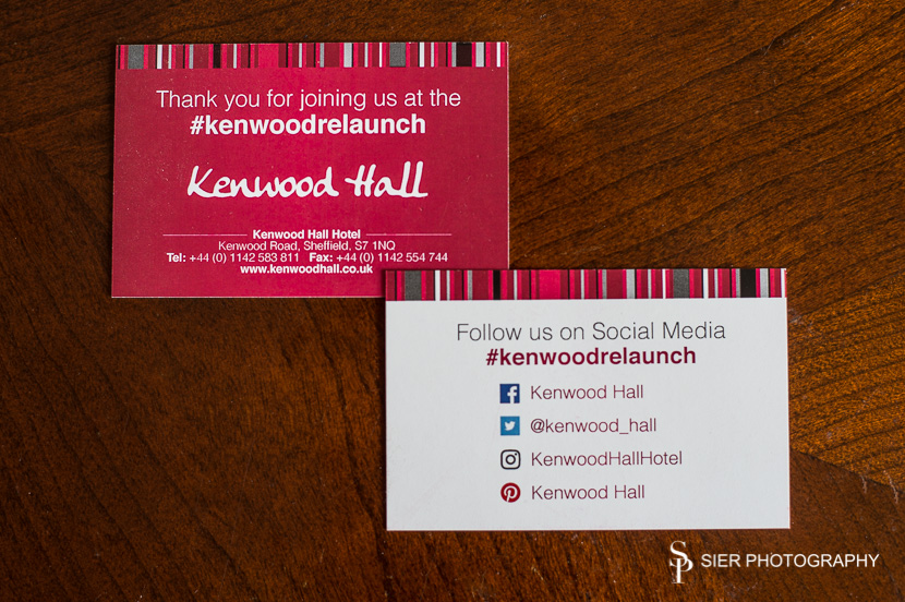 Kenwood Hall Hotel relaunch event to celebrate the rebranding of the Hotel under its new ownership